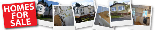 Click here to see homes available for sale on our parks