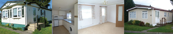 Mobile homes recently sold off site by Greenford Park Homes